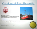Certificate of Rivet Ownership